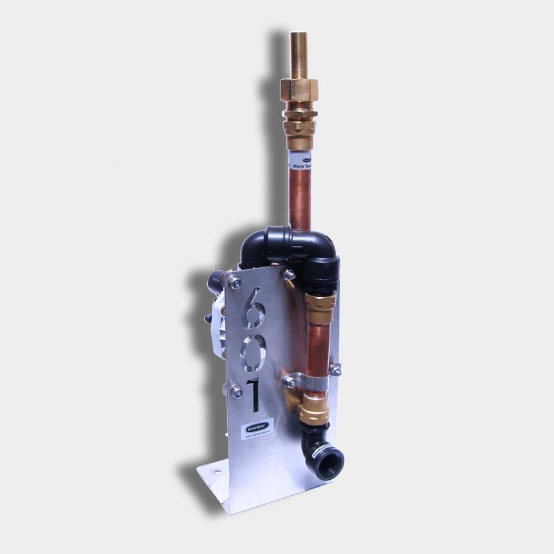 Water Switch 601 szökőkút fúvóka Üstökös fúvókával